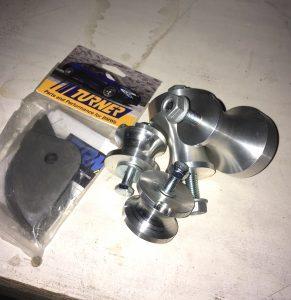Solid aluminum racing motor mounts