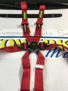 Red Schroth Enduro harness